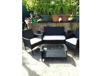 Rattan style furniture