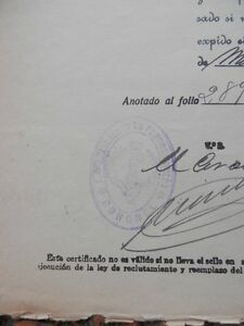 SELLO-REGIMIENTO-FERROCARRILES-MANUSCRITO-ANO-1923-CUATRO-VIENTOS-CERTIFICADO