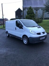2008 traffic lwb 2.0 cdti psv July alloys good van tyres roofrack take small trade in