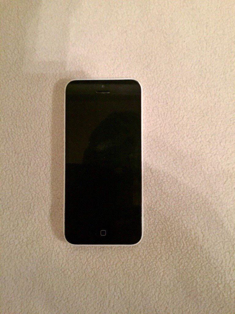 Genuine Apple iphone 5c-16GB, Smartphone (White)Unlocked to all network