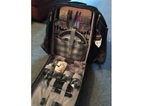Picnic set in a backpack ideal for picnics and barbecues/walks