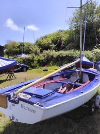 Wayfarer Sailing Dinghy for sale in the west country