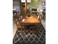 4 seat dinning table including chairs (Ikea)