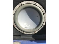 1000 Watts subwoofer