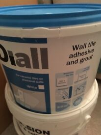 Paint and Grout (white)