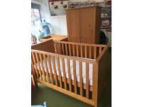 NEXT 3 piece nursery furniture set