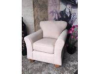 New Marks and Spencer Abbey Armchair in Meredith Almond