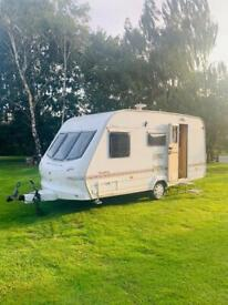 2003 ELDDIS BROADWAY 450/4 Single Axle Touring Caravan Lightweight