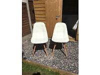 Pair of Eames Style Chairs