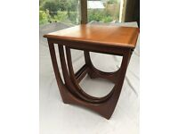 Vintage G Plan Mid-Century Teak 'Astro' Nest of Tables
