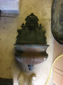 Large ornate water feature needs painting
