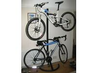 Bike Stand - wall mounted for 2 bikes £15