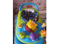Brand new mothercare baby walker .
