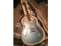 Blue Gibson Limited Edition Midtown Custom (with P90 Pickups)
