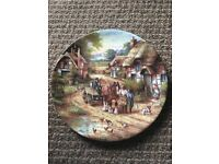 Wedgwood country days 'early morning milk' plate