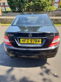 2008 Mercedes C Class. Excellent driving car, well maintained by company director.