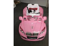 Pink ride in car Battery/electric