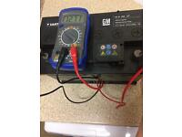 Car battery 12v fully charged