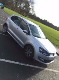VOLKSWAGEN POLO 2013 VW MATCH EDITION 1.2 MANUAL DIESEL IN SILVER - 5 DOOR Privacy Glass Low Mileage
