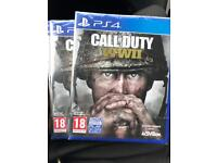 Call of Duty WWII PS4 (SEALED)