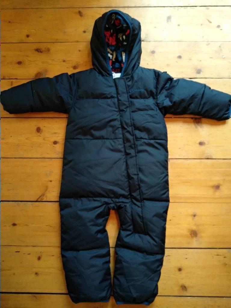 4089a0235 Columbia navy blue snow suit. 18-24 months. | in Edinburgh | Gumtree