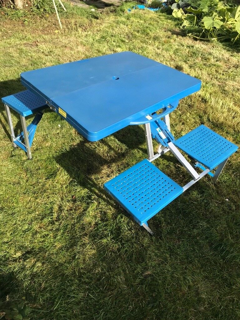 Camping Table for 4