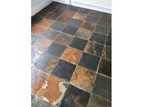 SLATE floors restorations PATIO jet wash