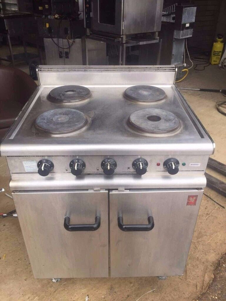 Falcon 4 RING COOKER WITH OVEN - SINGLE PHASE