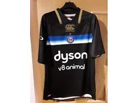 Bath Rugby home european shirt Size Medium worn once.
