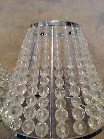 Side Lamp crystal shades