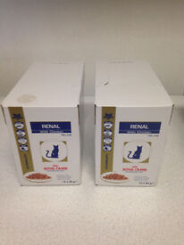 Royal Canin Renal Feline Wet Food Pouches (Chicken or Tuna) - Price per Box of 12