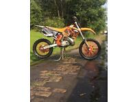 Ktm 200 exc 2001 road legal swaps