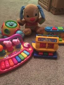 Baby toddler toy bundle x 5