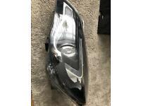 Vauxhall insignia facelift head light