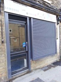 Shop front to let/rent bd2 bradford west yorkshire dudley hill rd