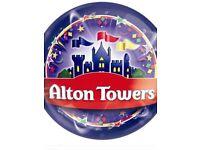 Alton Towers Tickets X 2 Thursday 27/09/18.