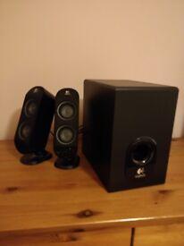 Logitech Computer Speakers, 2.1