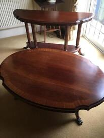 Coffee table and console table