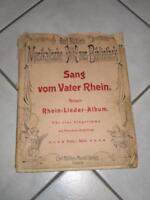Sang vom Vater Rhein – alte Noten (Nr. 425) Niedersachsen - Lohne (Oldenburg) Vorschau