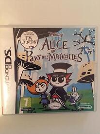 Alice in Wonderland Game for Nintendo DS