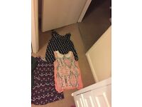mixed branded clothes bundle size 10