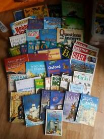 HUGE BUNDLE OF 45 CHILDREN'S REFERENCE BOOKS