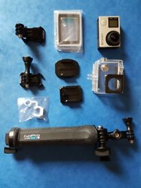 GoPro Hero 4 Silver and accesories