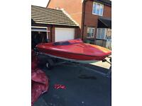 Speedboat Shakespeare 50hp mercury speed boat