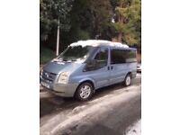 Ford transit tourneo GLX130 campervan