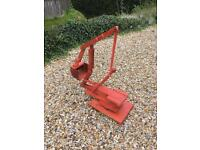Sandpit Garden Digger - Handmade Recylced Wood - Ride On