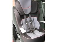 PAMPERO COMFITRIP CHILD BOOSTER/CAR SEAT, IT IS IN GOOD USED CONDITION