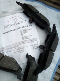 Brake pads for jeep cherokee and other chryslers