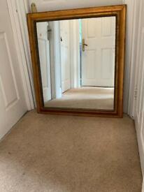 Gorgeous large mirror, hardly used