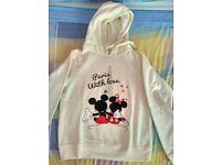 Brand new Mickie&Minnie Mouse hoodie